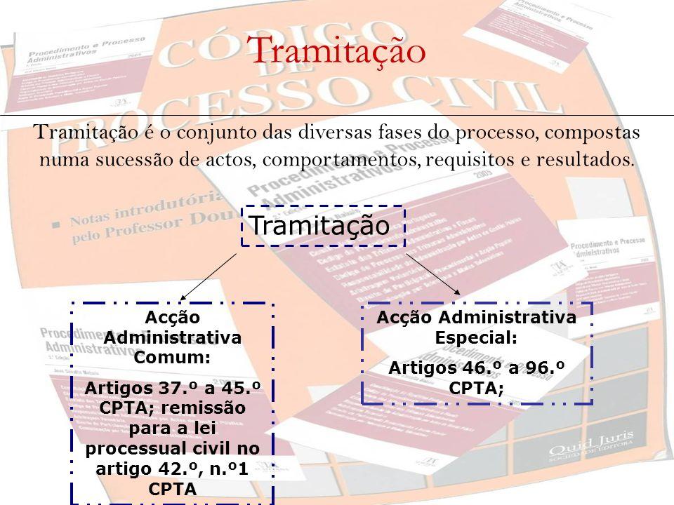 Acção Administrativa Comum: Acção Administrativa Especial: