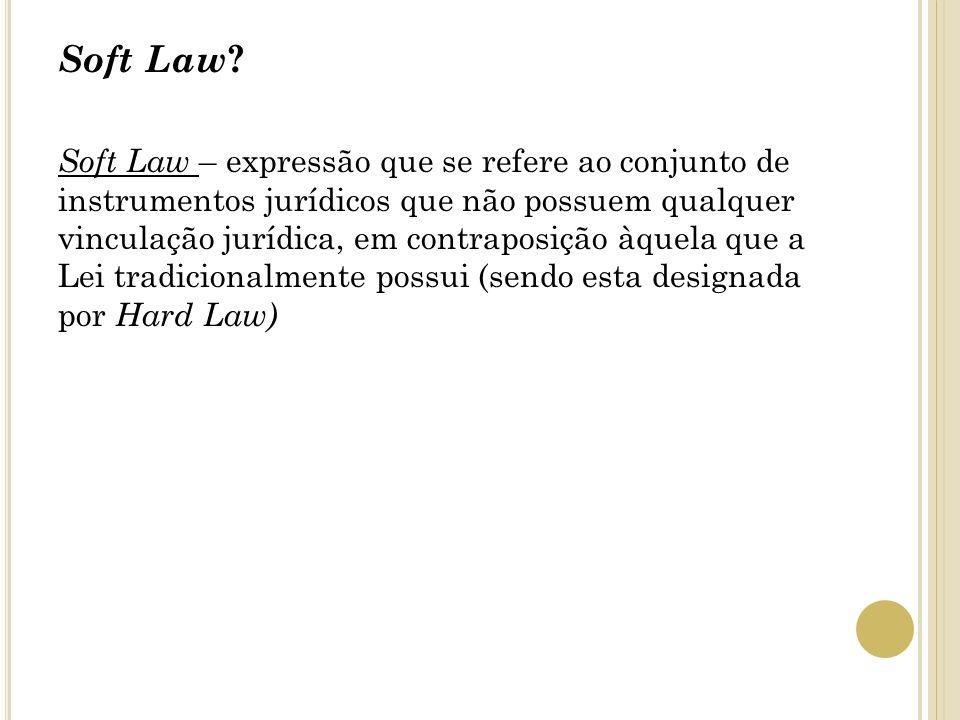 Soft Law