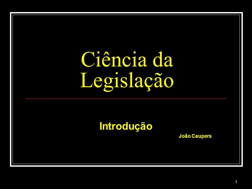 Introdução João Caupers