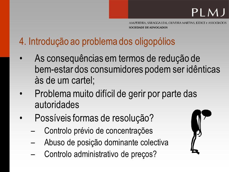 4. Introdução ao problema dos oligopólios