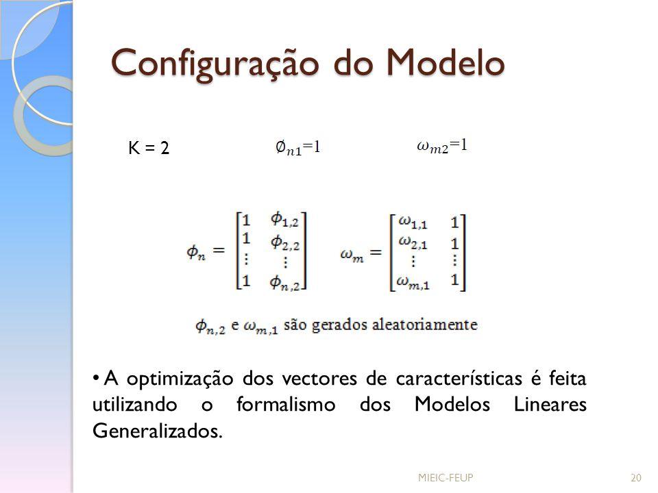 Configuração do Modelo