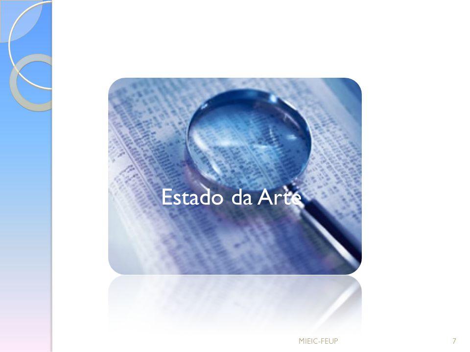 Estado da Arte MIEIC-FEUP