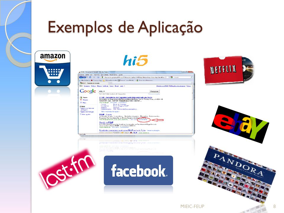 Exemplos de Aplicação MIEIC-FEUP