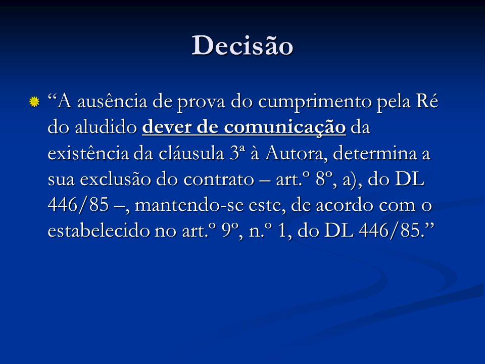 Decisão