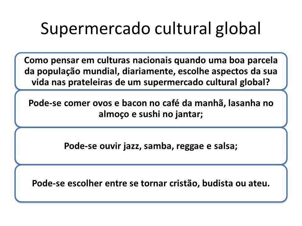 Supermercado cultural global