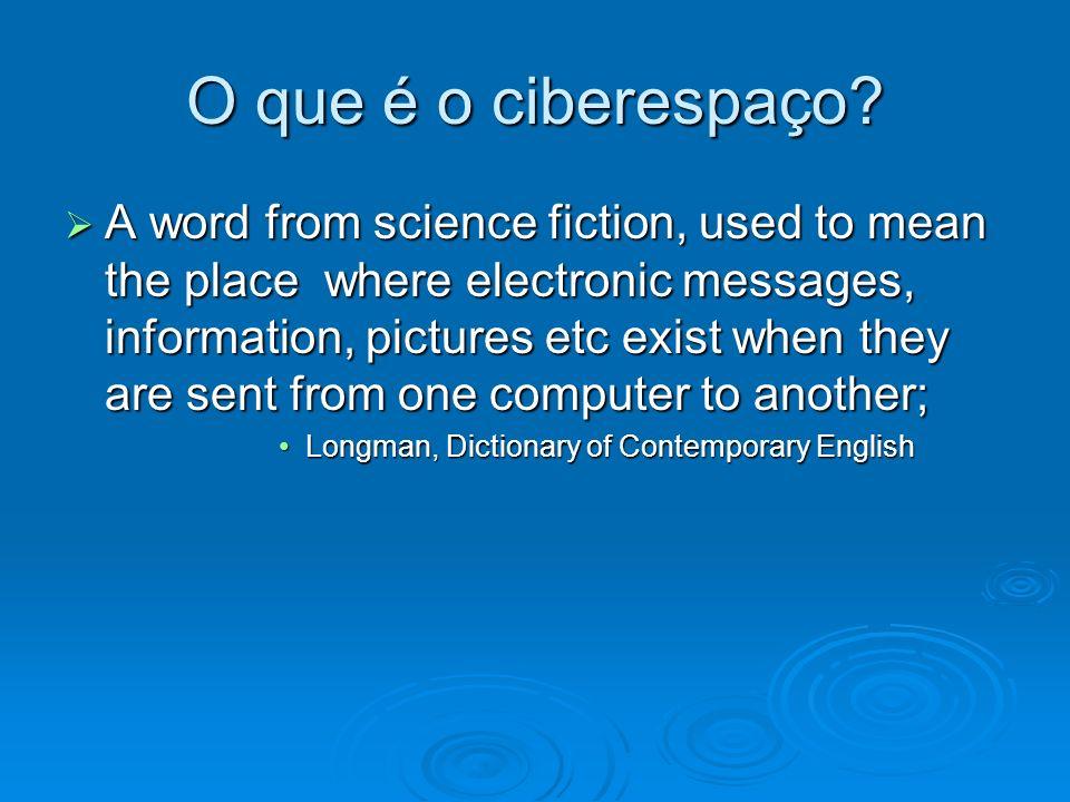 O que é o ciberespaço