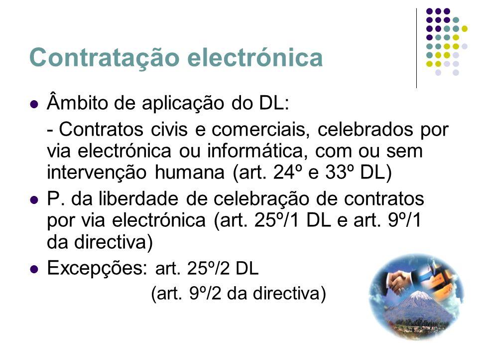 Contratação electrónica