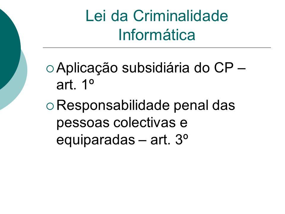 Lei da Criminalidade Informática