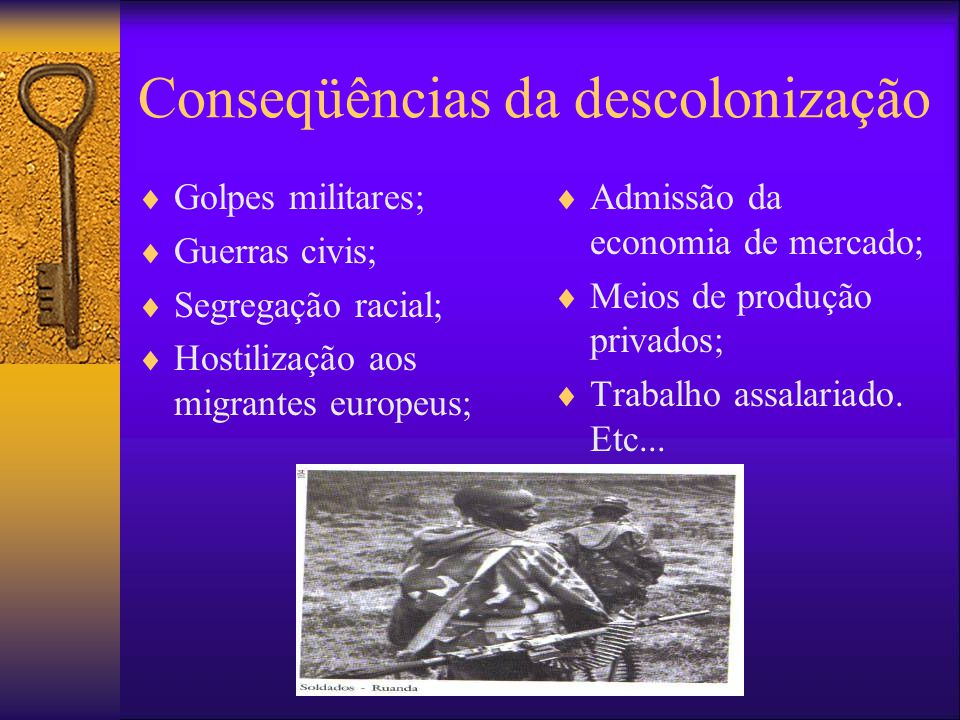 Conseqüências da descolonização