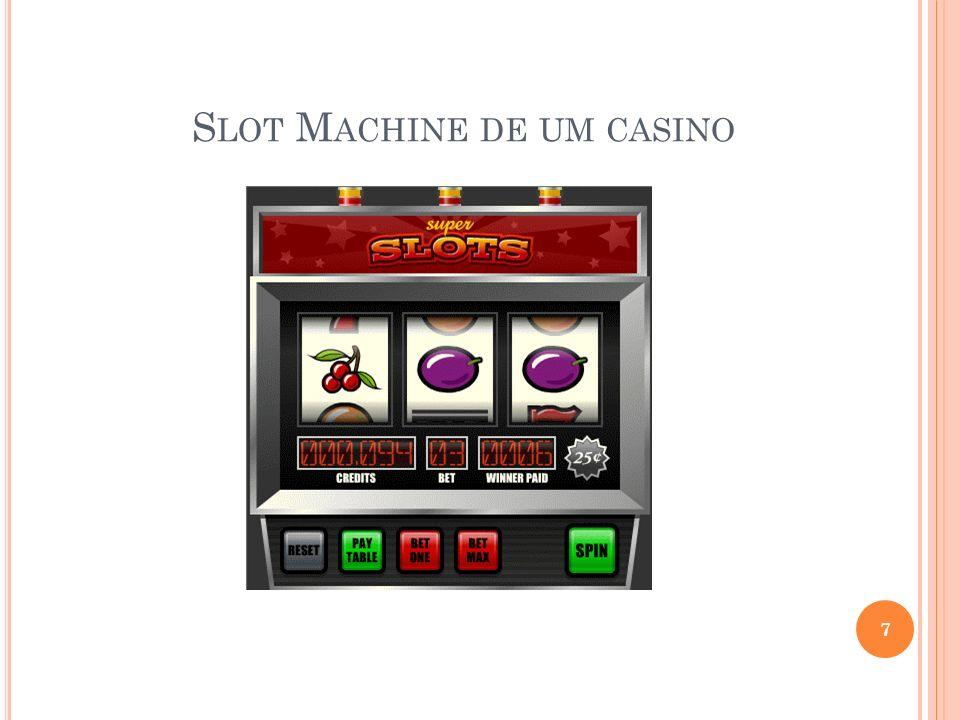 Slot Machine de um casino