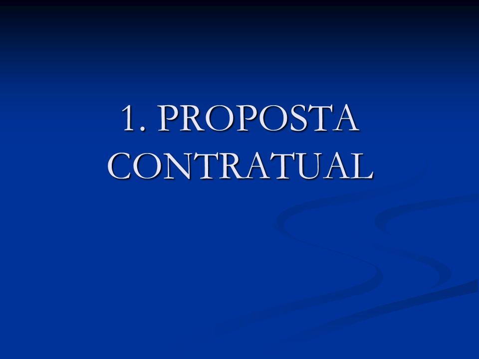 1. PROPOSTA CONTRATUAL Das
