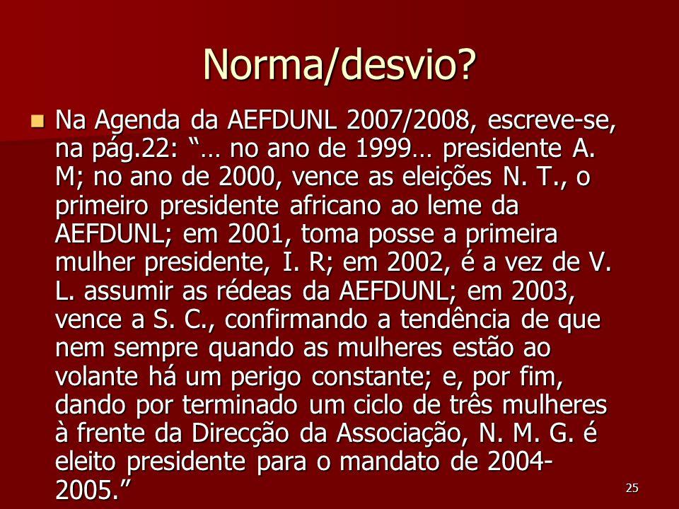 Norma/desvio