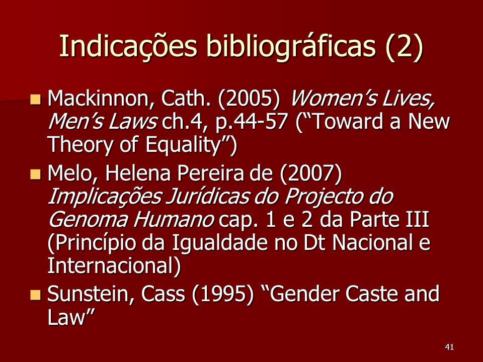 Indicações bibliográficas (2)