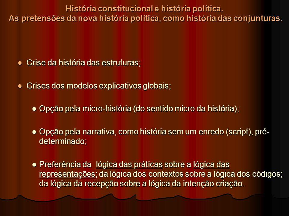 História constitucional e história política