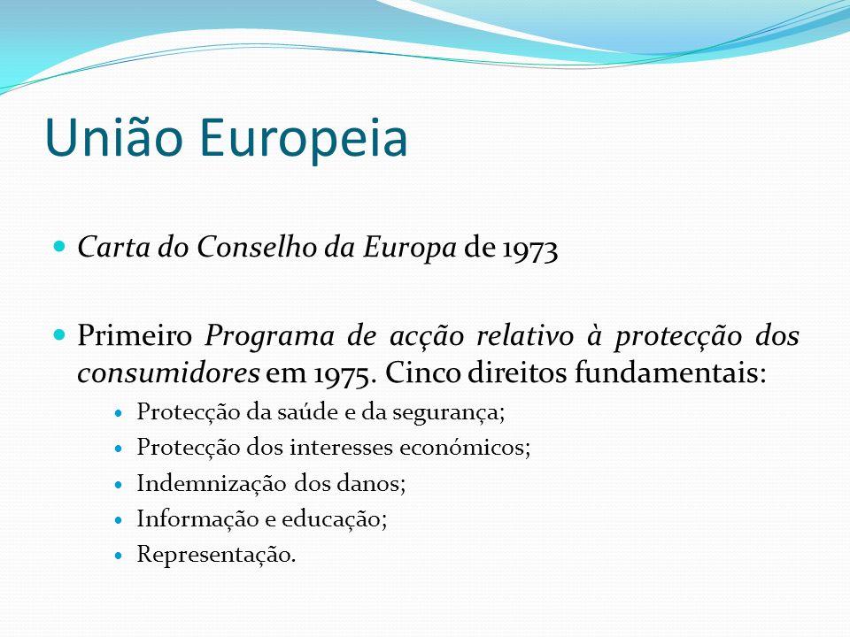 União Europeia Carta do Conselho da Europa de 1973