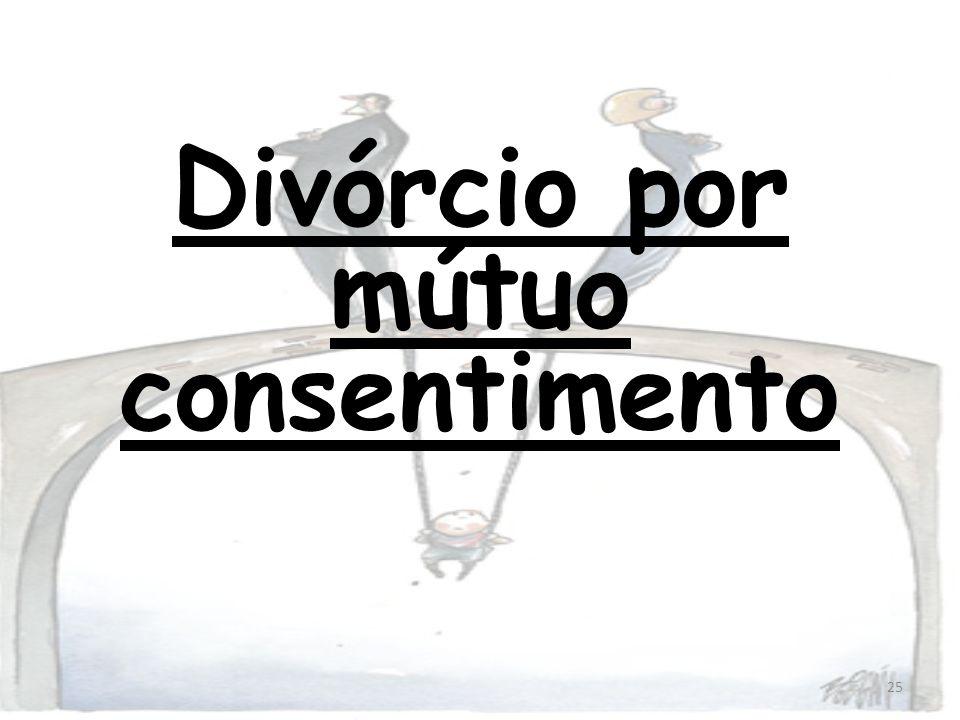 Divórcio por mútuo consentimento