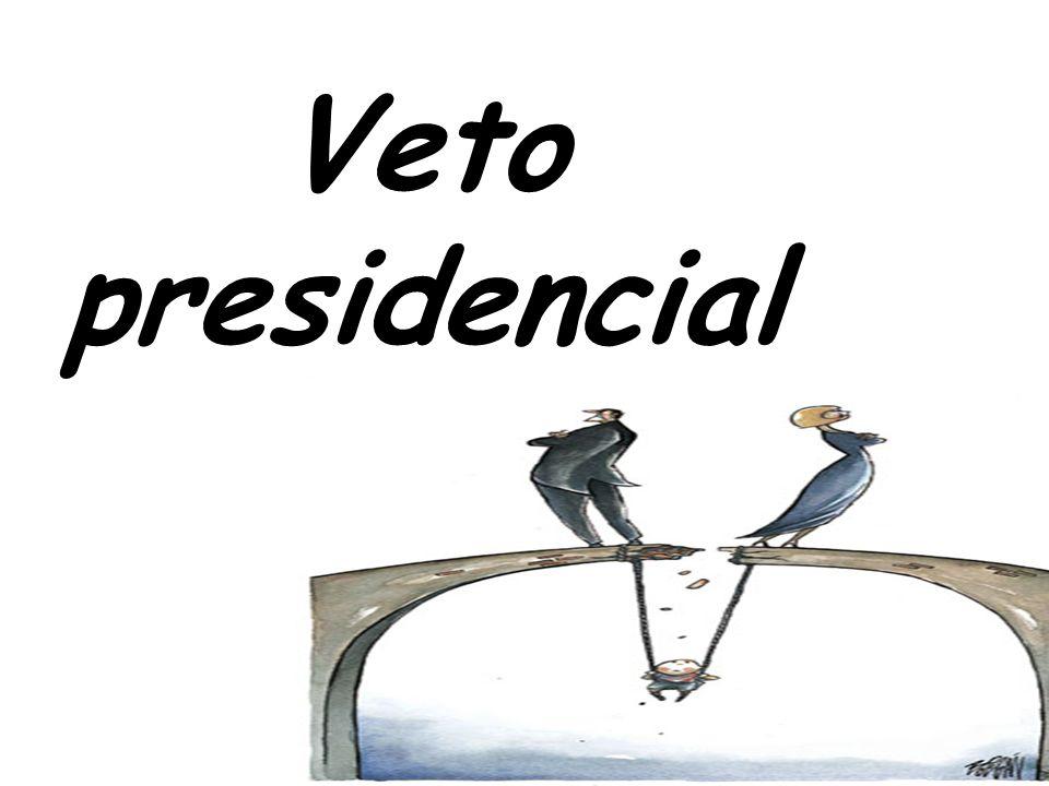 Veto presidencial