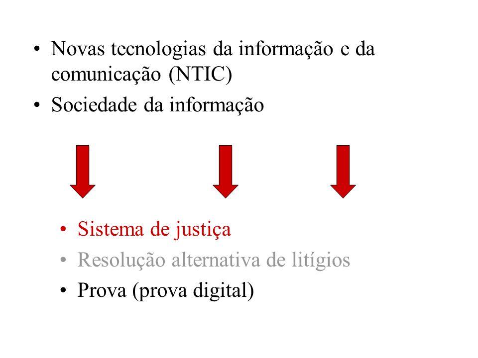 Novas tecnologias da informação e da comunicação (NTIC)