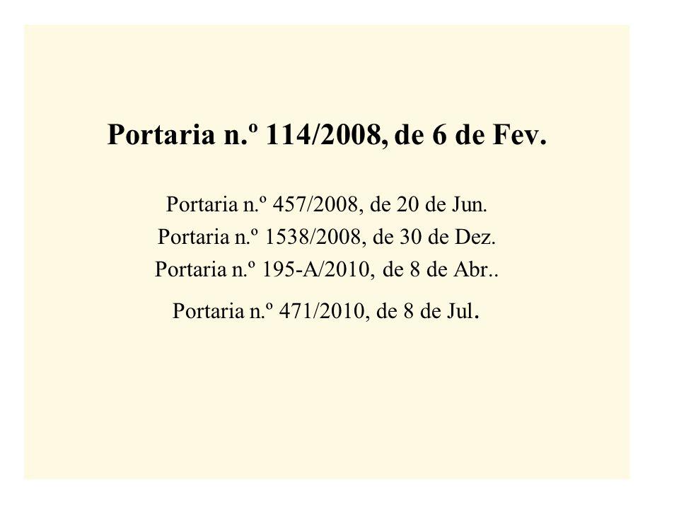 Portaria n.º 195-A/2010, de 8 de Abr..