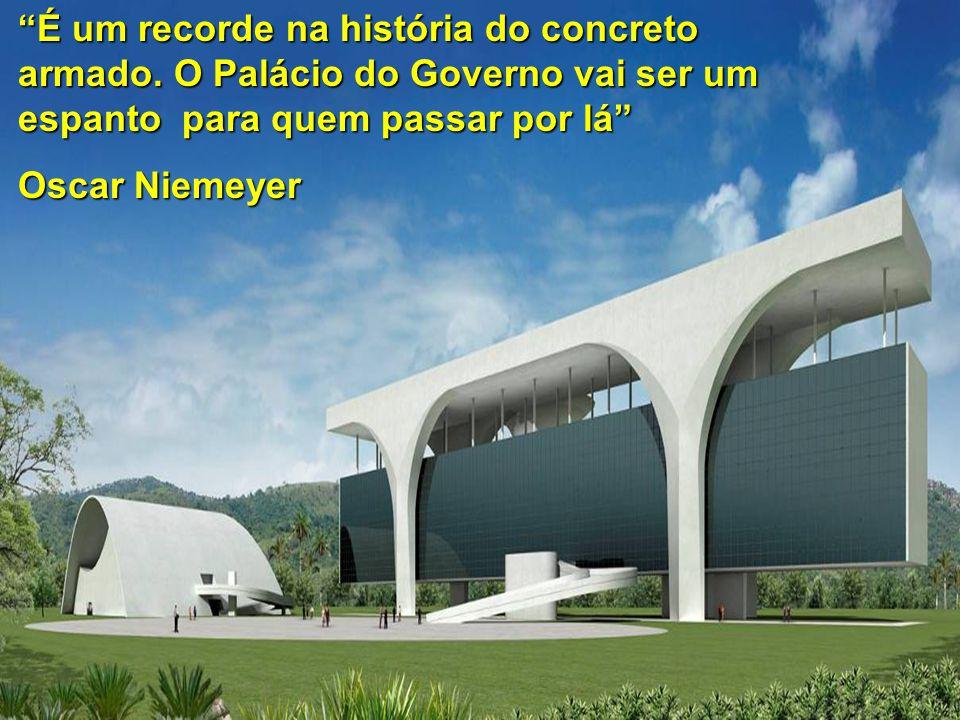É um recorde na história do concreto armado