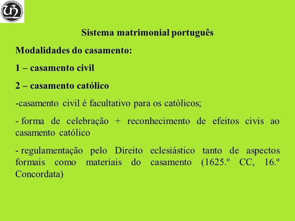 Sistema matrimonial português