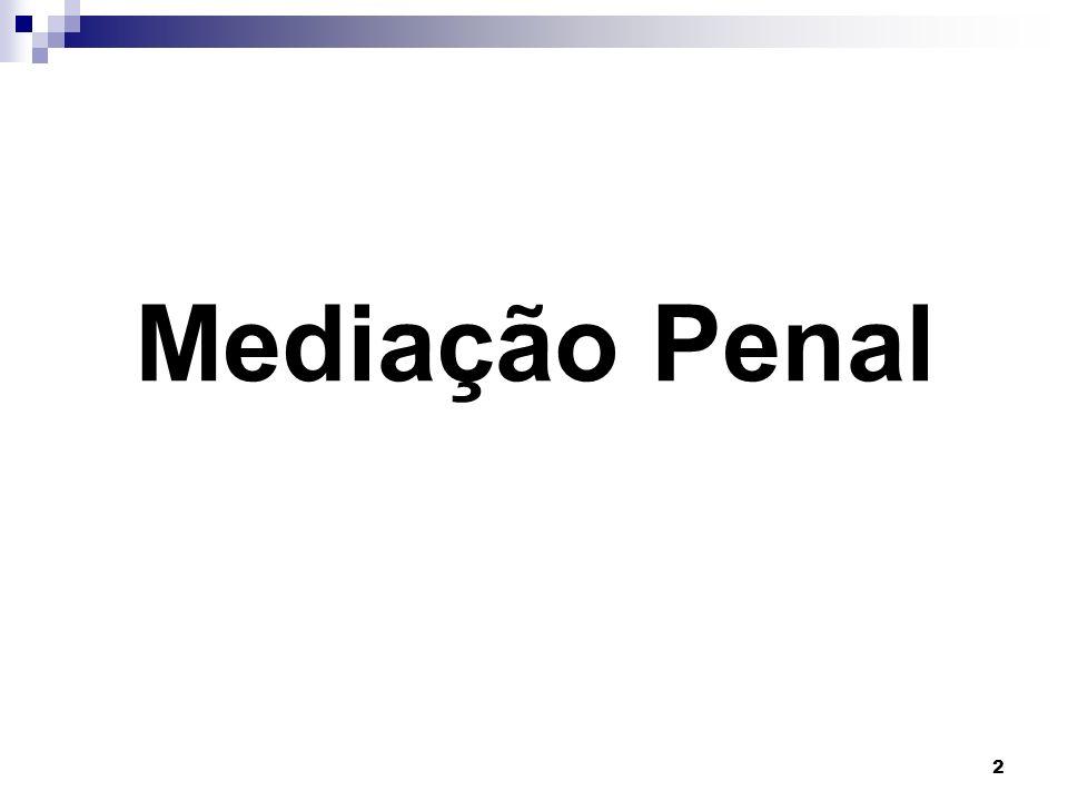 Mediação Penal