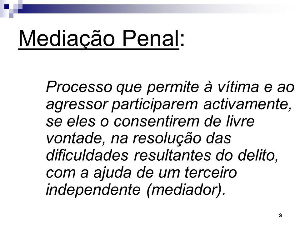 Mediação Penal: