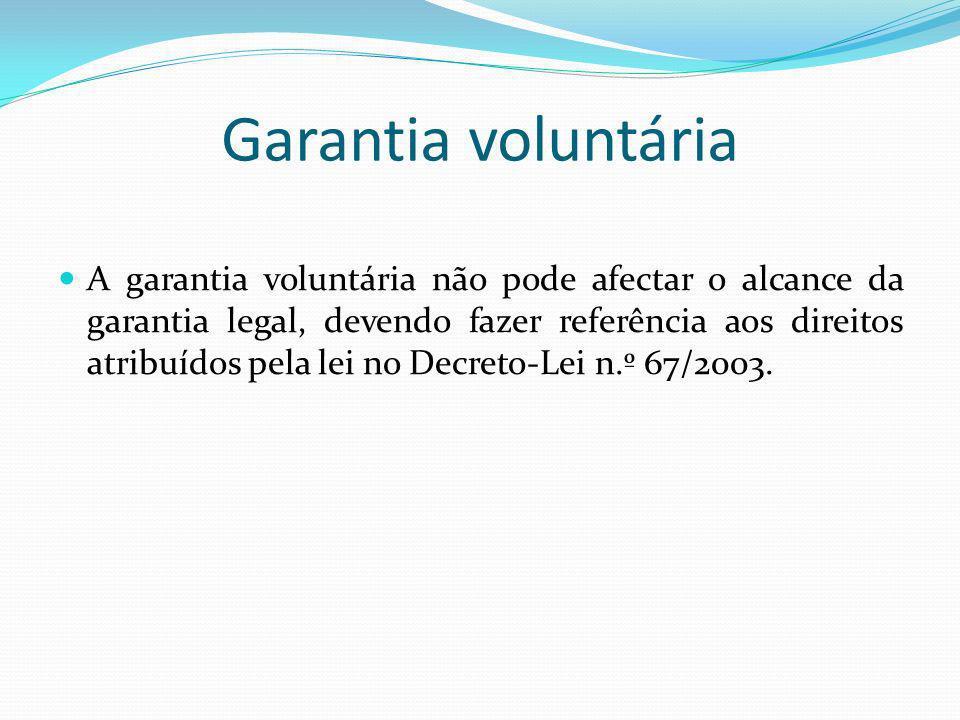 Garantia voluntária