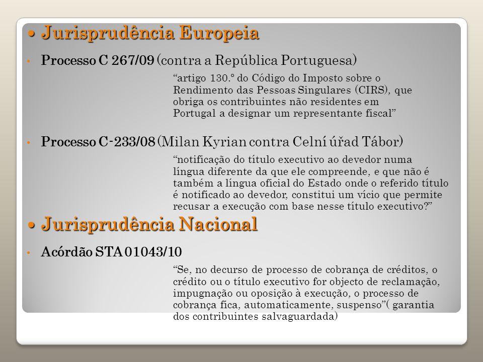 Jurisprudência Europeia