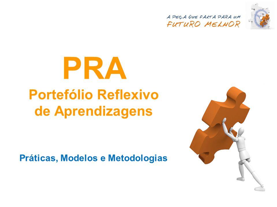 PRA Portefólio Reflexivo de Aprendizagens Práticas, Modelos e Metodologias
