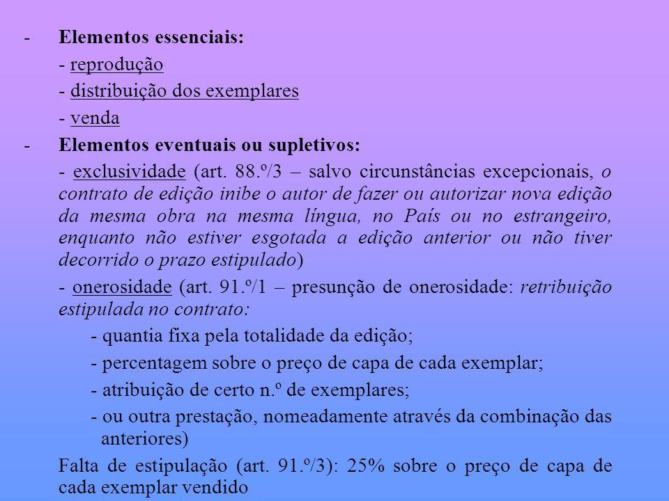 Elementos essenciais: