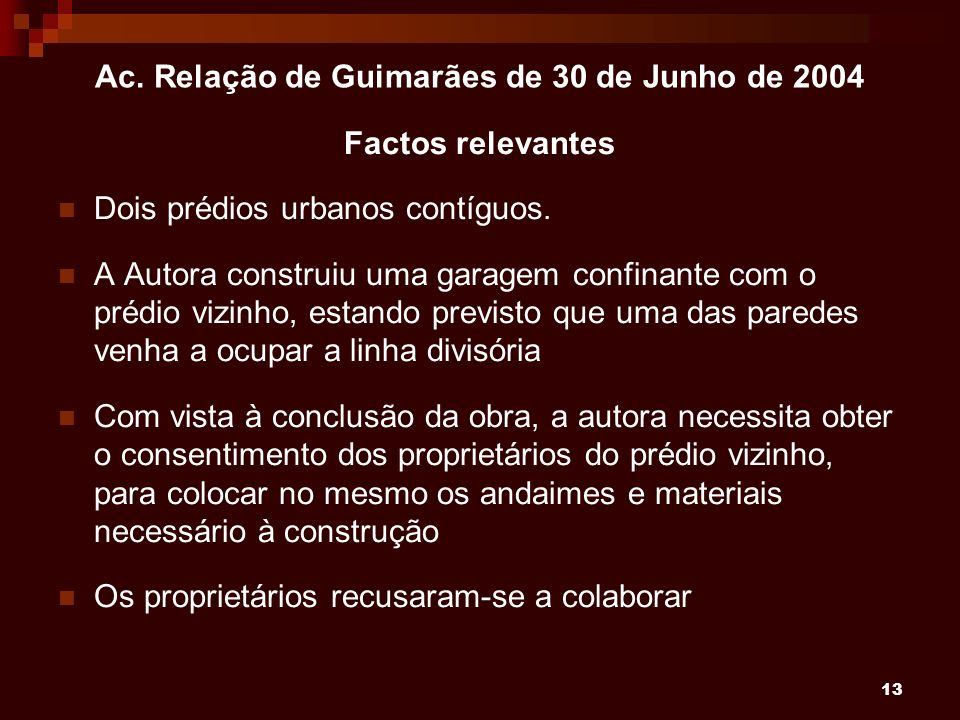 Ac. Relação de Guimarães de 30 de Junho de 2004