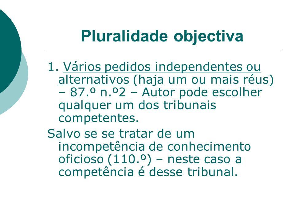 Pluralidade objectiva