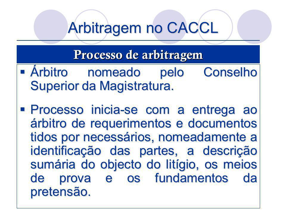 Processo de arbitragem