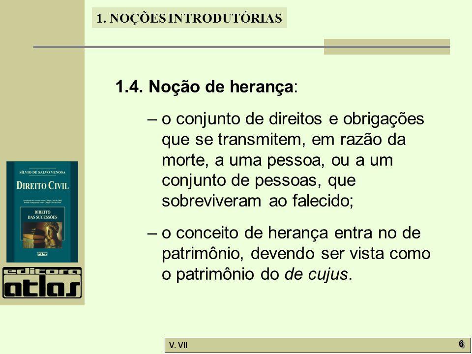 1.4. Noção de herança: