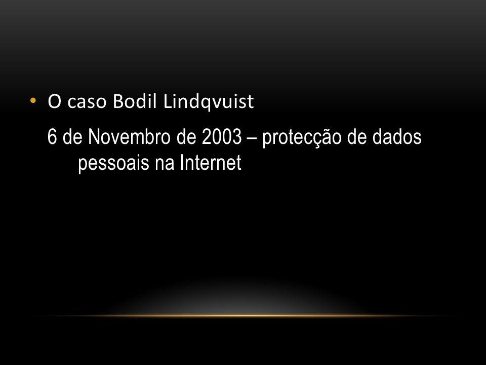O caso Bodil Lindqvuist