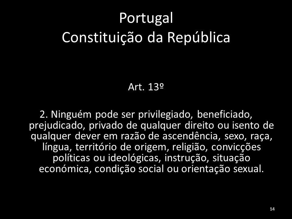 Portugal Constituição da República