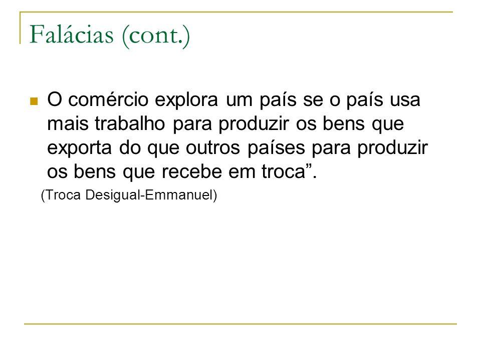 Falácias (cont.)