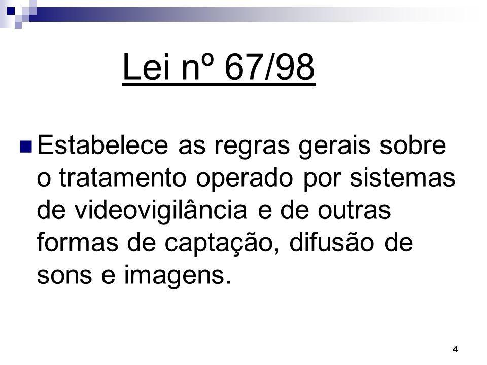Lei nº 67/98
