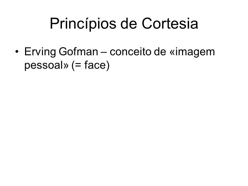 Princípios de Cortesia