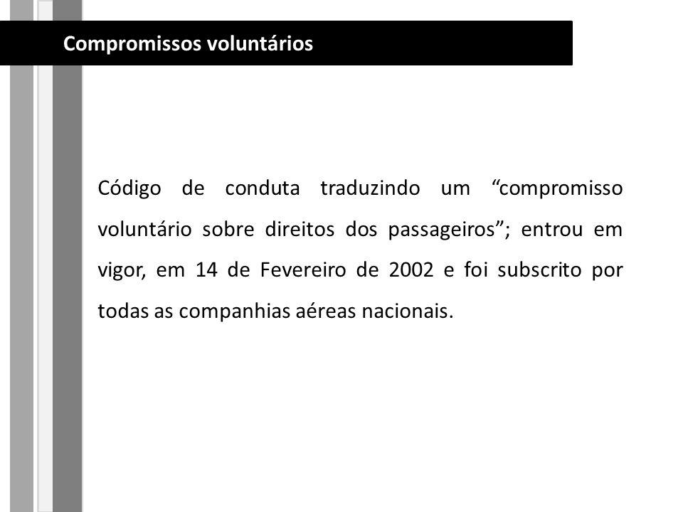 Compromissos voluntários