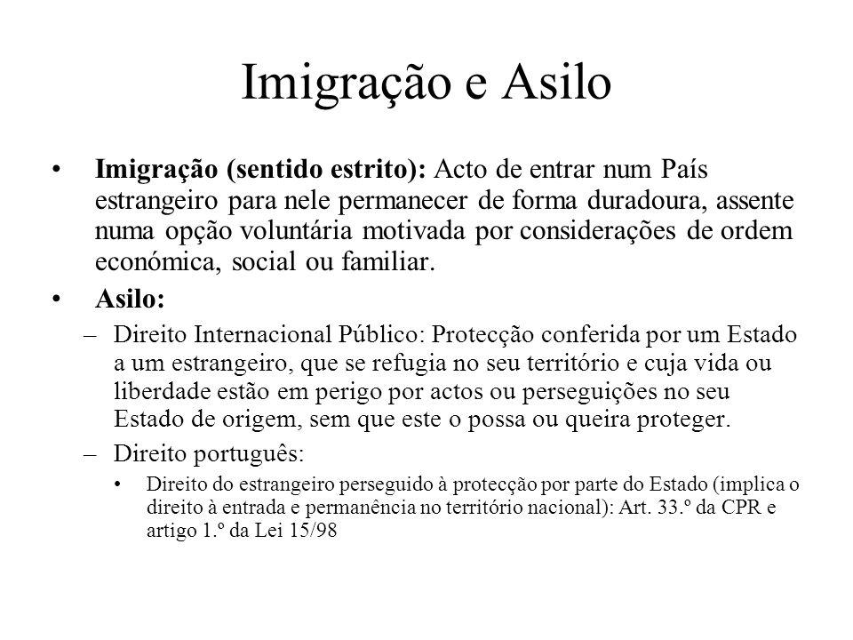 Imigração e Asilo