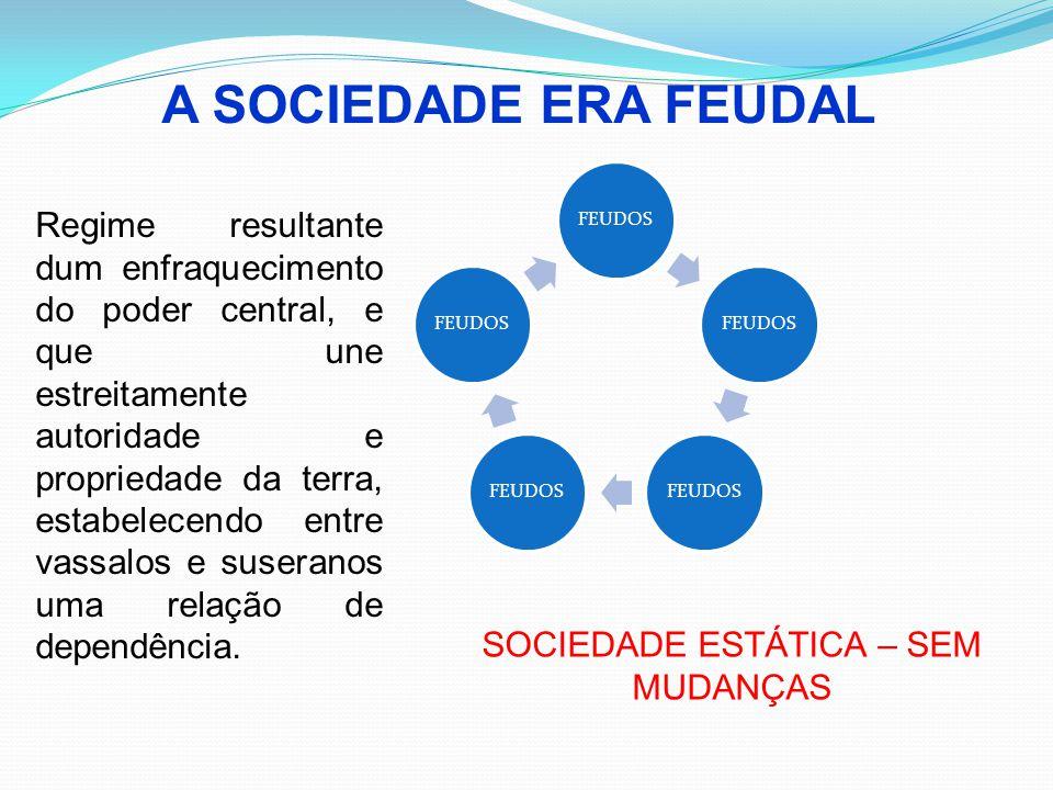 SOCIEDADE ESTÁTICA – SEM MUDANÇAS