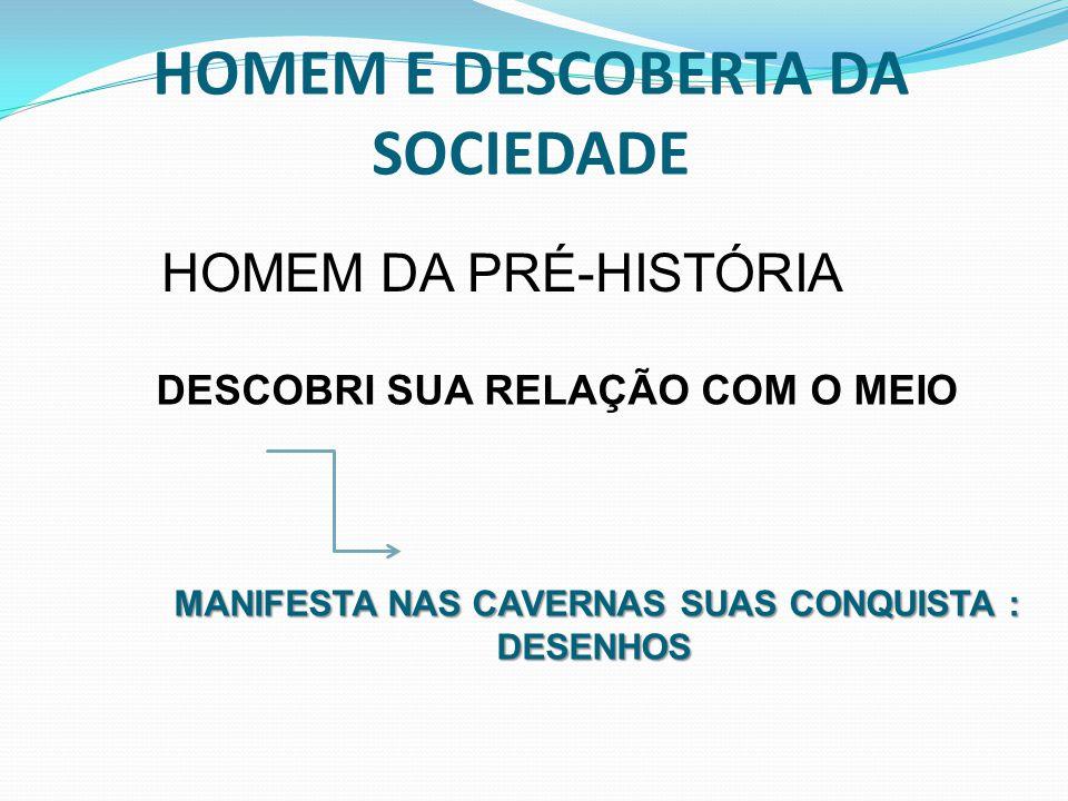 HOMEM E DESCOBERTA DA SOCIEDADE