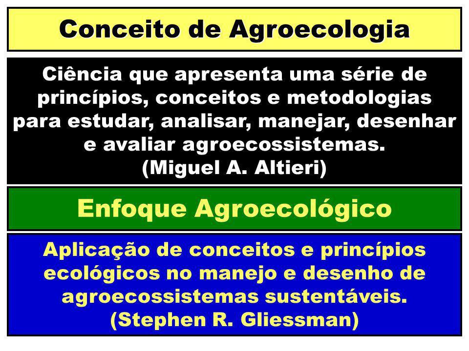 Conceito de Agroecologia Enfoque Agroecológico