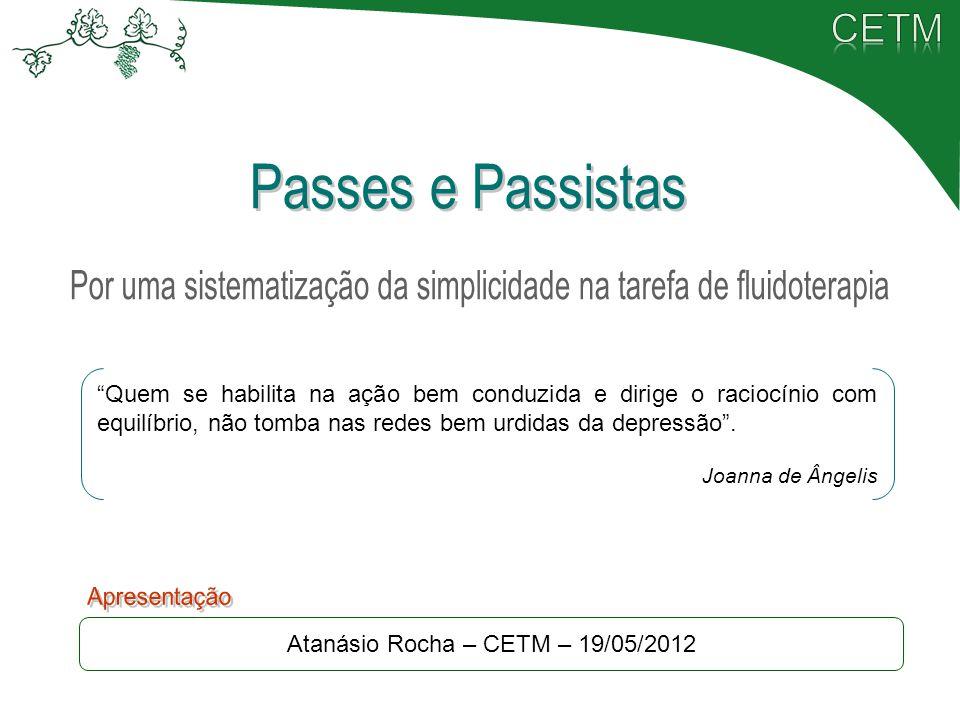 Passes e Passistas Apresentação