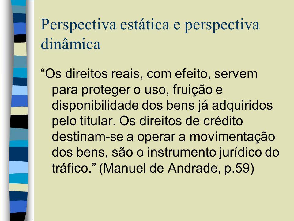 Perspectiva estática e perspectiva dinâmica