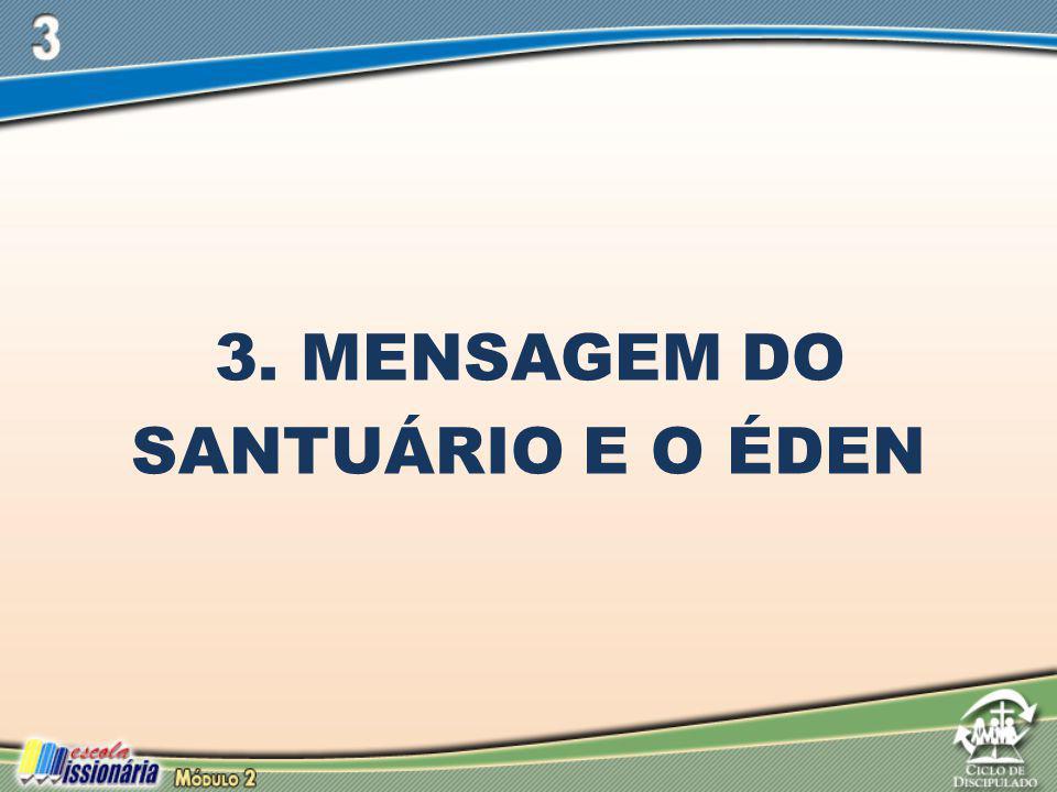 3. Mensagem do Santuário e o Éden