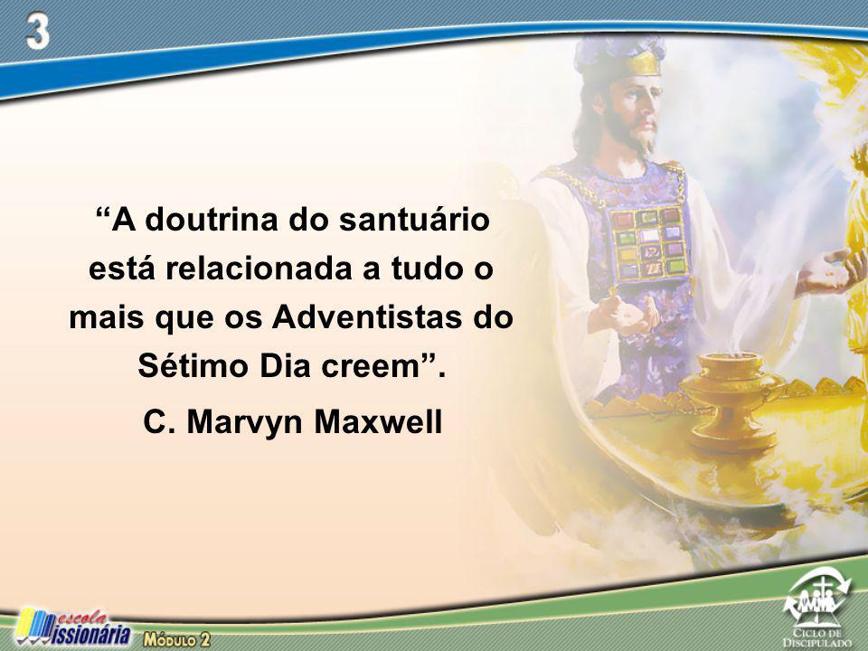 A doutrina do santuário está relacionada a tudo o mais que os Adventistas do Sétimo Dia creem .
