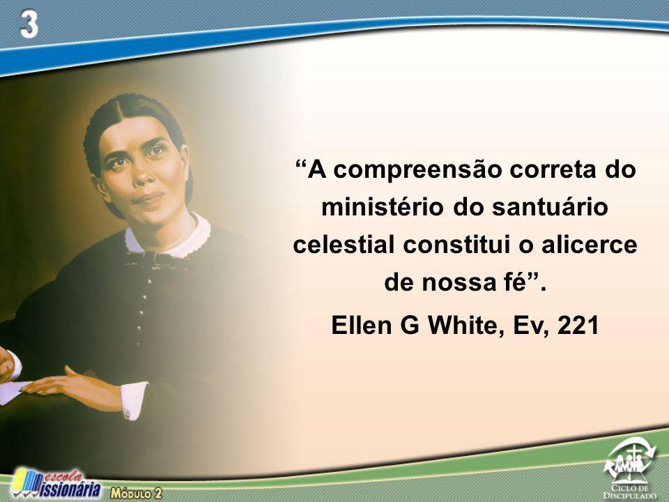 A compreensão correta do ministério do santuário celestial constitui o alicerce de nossa fé .